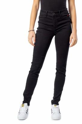 Desigual 20SWDD43 Women's Jeans Denim Twoskin - Black - W30