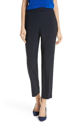 Clive Judith & Charles Ankle Stretch Wool Pants