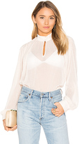 House Of Harlow x REVOLVE Bonet Blouse in Pink. - size M (also in S,XS)
