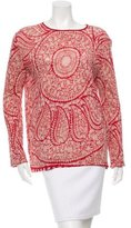 Giambattista Valli Printed Linen Top w/ Tags