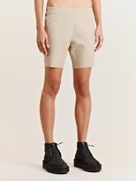 Women's Coated Felt Shorts