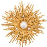 Oscar de la Renta Pearl Burst brooch