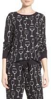 PJ Salvage Women's Wine Glass Sweatshirt