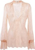 Valentino lace blouse - women - Silk/Cotton/Polyamide - 38