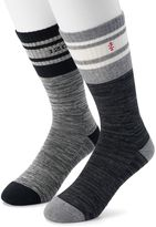 Izod Men's 2-pack Striped Crew Socks