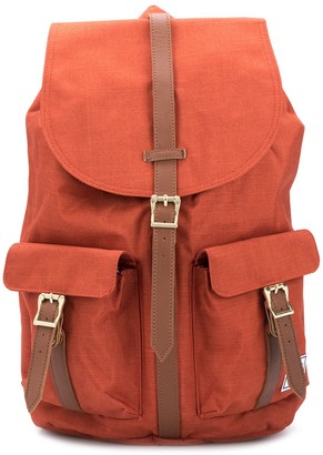 Herschel Logo-Patch Buckled Backpack