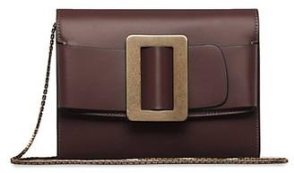 Boyy Buckle Leather Crossody Bag