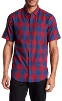 Ezekiel Clovis Short Sleeve Plaid Print Shirt