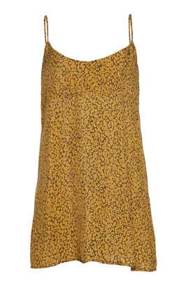 Anémone Leopard-Printed Mini Slip Dress