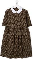 Fendi TEEN FF pattern dress