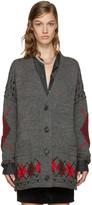 Isabel Marant Grey Geena Cardigan