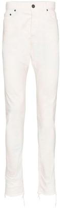 John Elliott Frayed Edge Tie-Dye Jeans