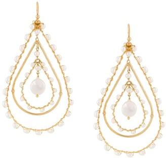 Gas Bijoux Orphee teardrop earrings