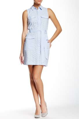 Cece By Cynthia Steffe Shea Sleeveless Shirt Dress