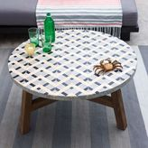 west elm Mosaic Tiled Coffee Table - Gray