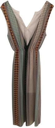Sandro Spring Summer 2018 Green Cotton - elasthane Dress for Women