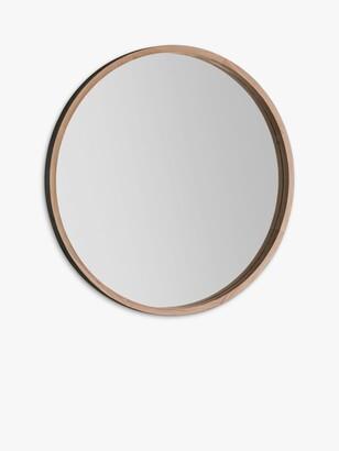 Round Wood Mirror The World S, Round Wood Frame Mirror Uk