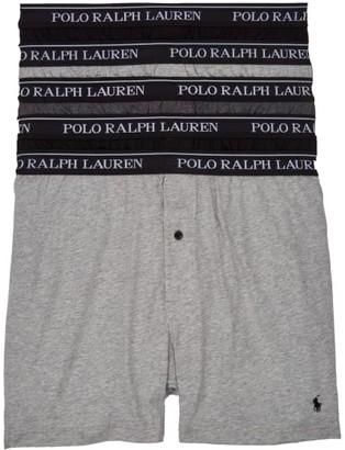 Polo Ralph Lauren Classic Fit Cotton Boxers 5-Pack