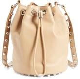 Alexander Wang 'Alpha' Leather Bucket Bag - Beige