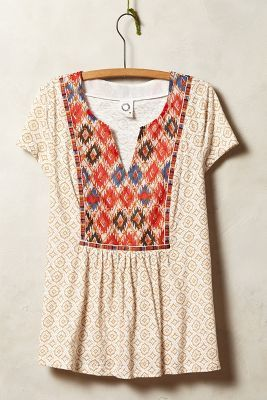 Anthropologie Akemi + Kin Honey Valley Tee