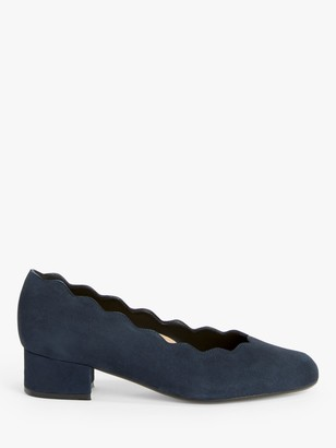 John Lewis & Partners Aiyana Wide Fit Mid Heel Court Shoes