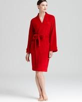Lauren Ralph Lauren So Soft Terry Short Shawl Collar Robe