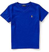 Ralph Lauren Little Boys 2T-7 Short-Sleeve V-Neck Tee