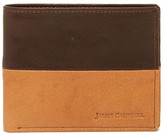James Campbell Two-Tone Leather Bifold Wallet