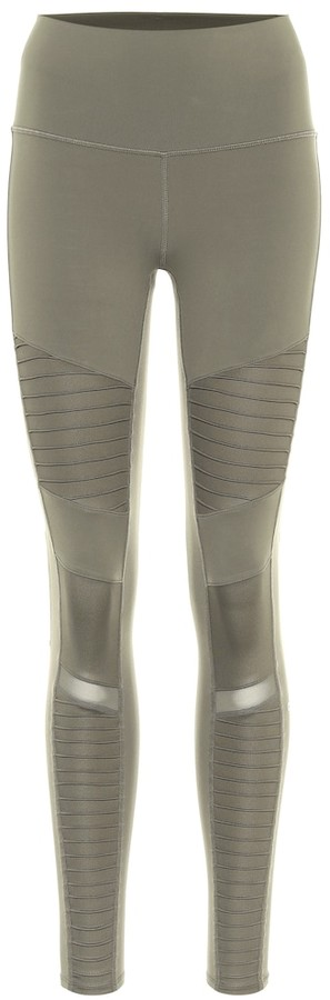 Alo Yoga Moto high-rise leggings