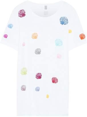 Rosie Assoulin Embroidered Pima Cotton-jersey T-shirt