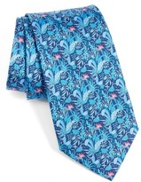 Salvatore Ferragamo Men's Tropical Print Silk Tie