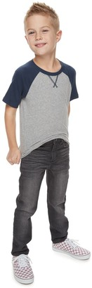 Sonoma Goods For Life Boys 4-12 Comfort Knit Denim Straight Jeans in Regular, Slim & Husky
