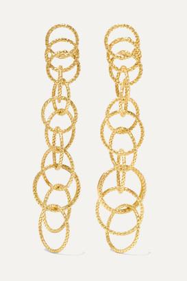 Buccellati Hawaii Honolulu 18-karat Gold Earrings