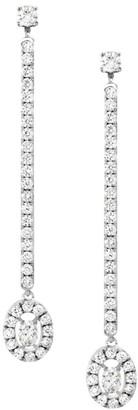 Messika Glam'Azone 18K White Gold & Diamond Dangling Earrings