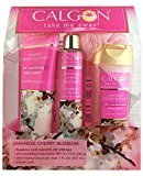 Calgon Japanese Cherry Blossom 4 Piece Gift Set for Women