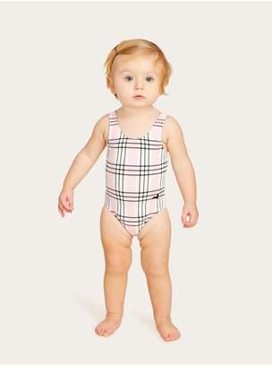 Morgan Lane Maisie Baby One-Piece Set In Shortcake