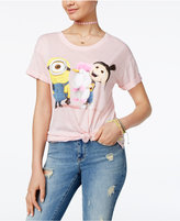 Hybrid Despicable Me Juniors' Minion Unicorn Graphic Tunic T-Shirt