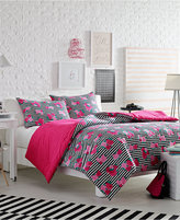 Betsey Johnson Luv Betsey by Royal Roses Reversible Twin Comforter Set