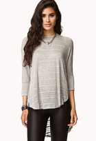Forever 21 Striped Dolman Top