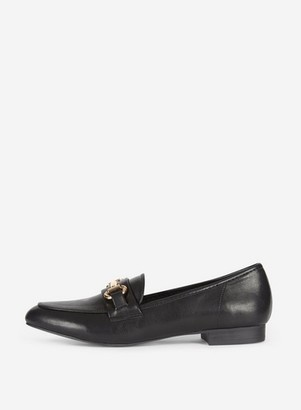 Dorothy Perkins Womens Black 'Lilo' Snaffle Loafers, Black