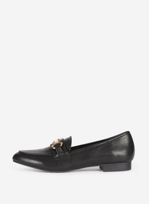 Dorothy Perkins Womens Black 'Lilo' Snaffle Loafers, Black
