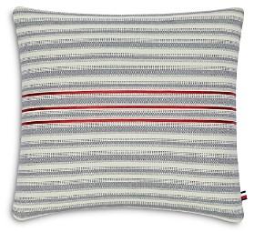 Tommy Hilfiger Triple Ribbon Decorative Pillow, 20 x 20