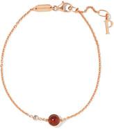 Piaget Possession 18-karat Rose Gold, Carnelian And Diamond Bracelet - one size