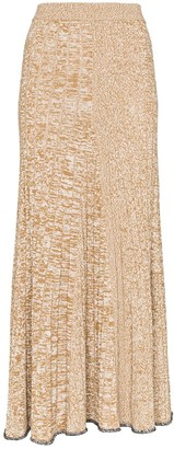 Joseph Sally ribbed-knit midi skirt