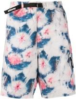 Stussy tie dye print bermuda shorts