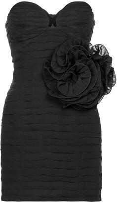 Magda Butrym Bustier silk minidress