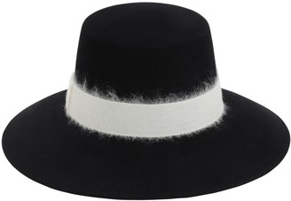 Eugenia Kim Stevie Wool Felt Hat W/ Hatband
