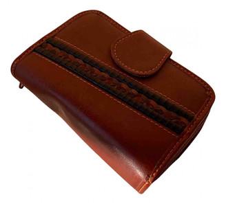 American Vintage Brown Leather Wallets