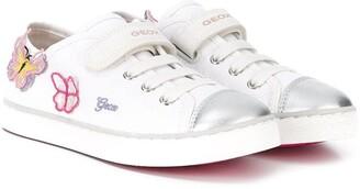 Geox Kids Butterfly Applique Sneakers
