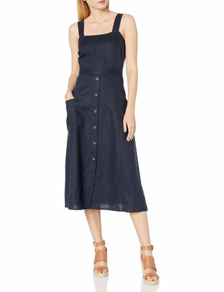 Vince Camuto Women's Sleeveless A-Line Two Pocket Dress